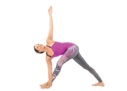 Parivartta Trikonasana (Revolving Triangle Pose)