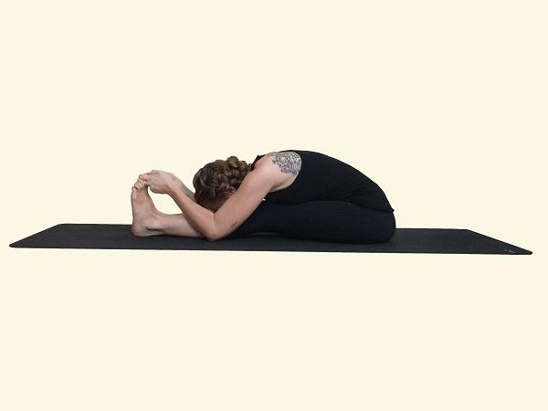 Pada Prasar (Legs Spread Intense Stretch of the West)