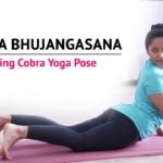Tiryaka Bhujangasana (Twisted Cobra pose)