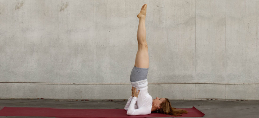 How to Do Sarvangasana, Shoulder Stand Pose, Benefits of Sarvangasana, Reduce Hairfall, Thyroid, Headache Relief