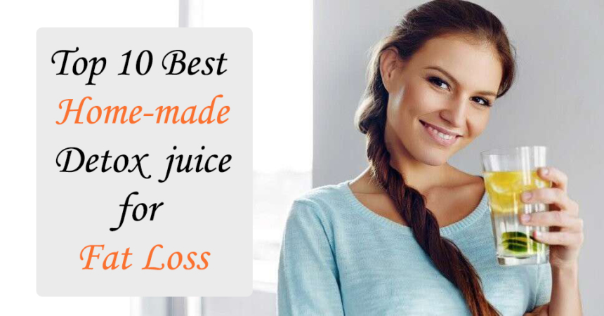 women best homemade detox water (juice) receip for fast weight loss