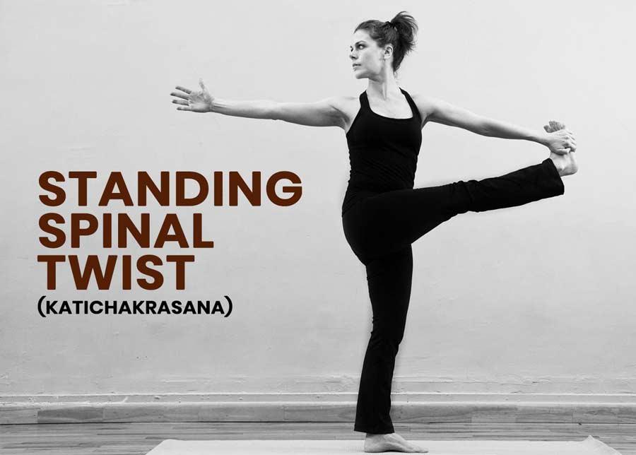 Katichakrasana-standing-spinal-twist