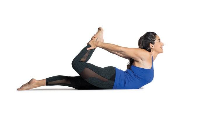 DHANURASANA (Bow-shaped Posture)